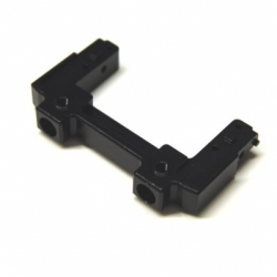 CNC Machined Aluminum Rear Bumper Mount/Chassis Brace For Axial SCX10 II (Black)